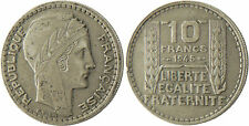 10  FRANCS  TURIN  1945  ,  RAMEAUX  COURTS