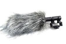 Roxdon fourrure fusil de chasse caméra microphone Mic pare-brise vent.