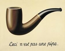 Magritte Rene This Is Not A Pipe Print 11 x 14 #  #3214