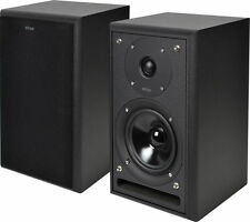ELTAX MONITOR III HIGH END SPEAKERS 80W BLACK - STANDARD WIRED SPEAKERS - NEW