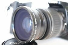 Macro Wide Angle Lens for Canon Eos Digital Rebel T4i sl1 XTi w/18-55 EF-S AF