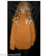 handgestrickt Pullover Langhaar Mohair Lungo  L/XL Unisex hand knitted sweater2