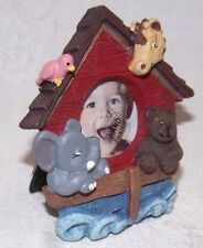 Noah's Ark Dimensional Photo Frame by Figi New Hand Painted