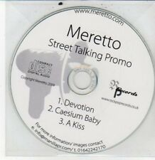 (DG335) Meretto, Street Talking sampler - 2009 DJ CD