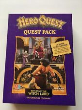 Hero Quest - Return of the Witch Lord Quest Pack Expansion Pack 1991 UNPUNCHED