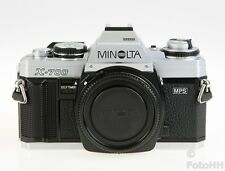 VERY RARE MINOLTA X-700 IN CHROME/SILVER !!!! WITH SERIAL NUMBER 1051641