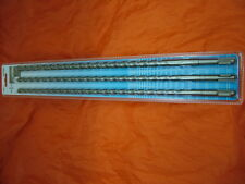 SDS plus extra long hammer drill bit set 10/12/14 x 450mm brique, béton, pierre