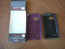 Lot of  2~DROID BIONIC SILICONE COVER FOR VERIZON MOTOROLA HIGH GLOSS COVER
