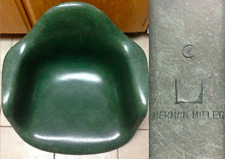 EAMES HUNTER ARMY DARK GREEN Fiberglass Arm Shell HERMAN MILLER CHAIR RARE COLOR