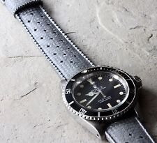 LAST ONES! Grey 20mm Swiss Tropic strap 1960s/70s vintage dive watch band NOS
