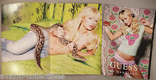 Paris Hilton for Guess Jeans & Underwear 3-Page PRINT AD - 2005 ~~ Marciano