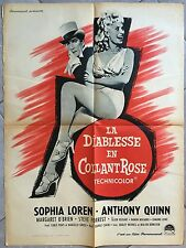 Affiche LA DIABLESSE EN COLLANT ROSE Heller in pink tights SOPHIA LOREN 60x80 -