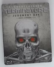 Terminator 2 - Judgment Day (Blu-ray, 2009) Rare UK Steelbook OOP