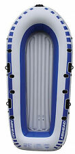 Airhead 4-Person Portable Lightweight Pond Lake River Inflatable Boat   AHIB-4