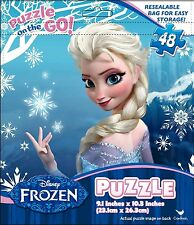 FROZEN IN A FOIL BAG 48 PIECE JIGSAW PUZZLE GAME (FREE P+P)