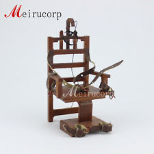 Dollhouse Miniature Furniture Cruel torture  Electric chair 1/12 Scale