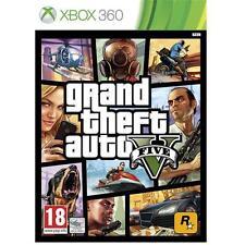 GRAND THEFT AUTO V 5 gioco per Microsoft Xbox 360 X360 NUOVO SIGILLATO