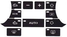 Audi A3 8P 2003 - 2008 sportback climate control button buttons repair kit