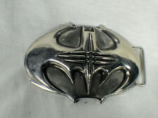 Batman Forever, Traditional Type Metal Bat Buckle, Silver