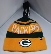Green Bay Packers Team Color Cuffed Beanie 47 Brand