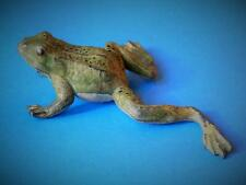 BRITAINS PRE-WAR VERY RARE SOLID LEAD PREWAR 1930s GARDEN POND SERIES FROG #483B