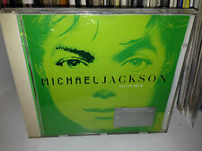 "MICHAEL JACKSON RARE CD "" INVINCIBLE "" GREEN COVER FUORI CATALOGO"