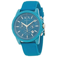Armani Exchange Outerbanks Blue Dial Mens Chronograph Watch AX1330