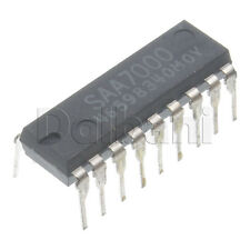 SAA7000 Original New Old Stock Philips Integrated Circuit DIP18 18 Pin