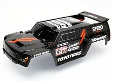 Traxxas 1/10 Slash 2WD On Board Audio * BODY - DAKAR TRUCK SERIES BLACK/WING *