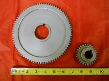 BRIDGEPORT MILL PART, MILLING MACHINE SPINDLE BULL GEAR ASSEMBLY 2183933 M1490