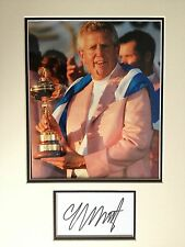 COLIN MONTGOMERIE - RYDER CUP GOLFER - STUNNING SIGNED COLOUR PHOTO DISPLAY