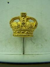 Kings Tudor Crown KC military stick pin 1950's                            1036