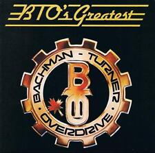 BACHMAN-TURNER OVERDRIVE - BTO'S Greatest (CD 1986) USA Import EXC Best of/Hits