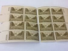 U.S. Plate Block #934 - 3 cents Army issue -Complete Matched Set of  16 Plate Bl