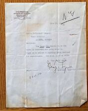 1939 Crown Oil Company letter re Stock