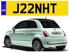 J22 NHT JANET JANETS JAN JANS JANETTE JEANETTE PRIVATE NUMBER PLATE FIESTA FIAT