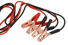Comercial Heavy Duty 10 FT 1 Gauge Booster Cable Jumping Cables Power Jumper