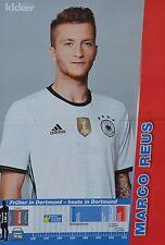 Marco Reus-a3 póster (aprox. 42 x 28 CM) - fútbol em 2016 recortes colección nuevo