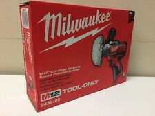 Milwaukee Electric Tools MLW2438-20 M12 Variable Speed Polisher/Sander NEW