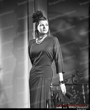 8x10 Original Negative Rita Hayworth Studio Fashion Portrait #5502427