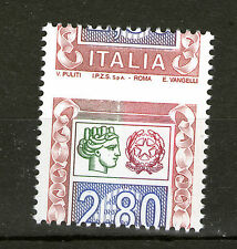 Italy 2002 MNH SC# 2461A with dramatic misperforation!!