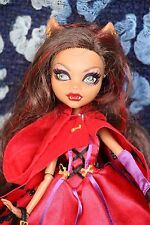 Monster High Clawdeen Wolf Rotwölfchen Red Riding Hood Märchen Puppe / Doll
