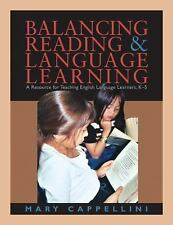 Balancing Reading and Language Learning, Cappellini, Mary, Acceptable Book