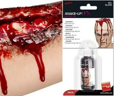 Halloween Fancy Dress Professional Gel Blood In Bottle #39676 New by Smiffys