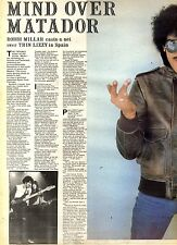 27/3/1982Pg30/31 Article & Pictures, Thin Lizzy In Spain (phil Lynott)