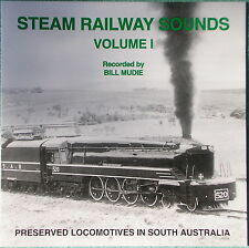 Digital Train Sound CD - Preserved Steam in South Australia - FREE POST in Aust