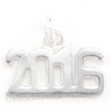 HAPPY NEW YEAR 2016 Graduation Celebration Charm Pendant 925 Sterling Silver
