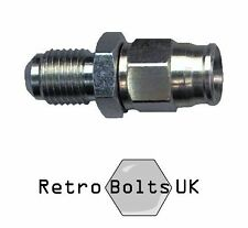 "-3 AN Male Bulkhead Brake Fitting Straight - 3/8"" UNF -  Mk1 Escort, Cortina"