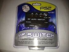 NEW Automatic RF RFU Switch Unit & AV Audio Video input for Playstation 2 PS2 GS