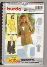 Reduced!  Burda 2952 Misses' Jackets Pattern 10-20